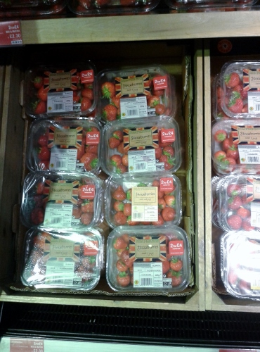 Fresas en Marks and Spencer