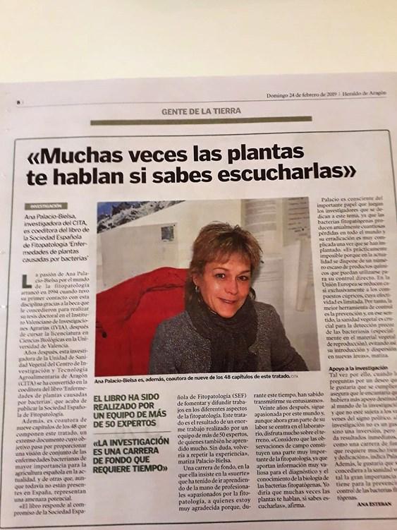 Entrevista a Ana Palacio en Heraldo de Aragón   Interview with Ana ... ac98e44da43f