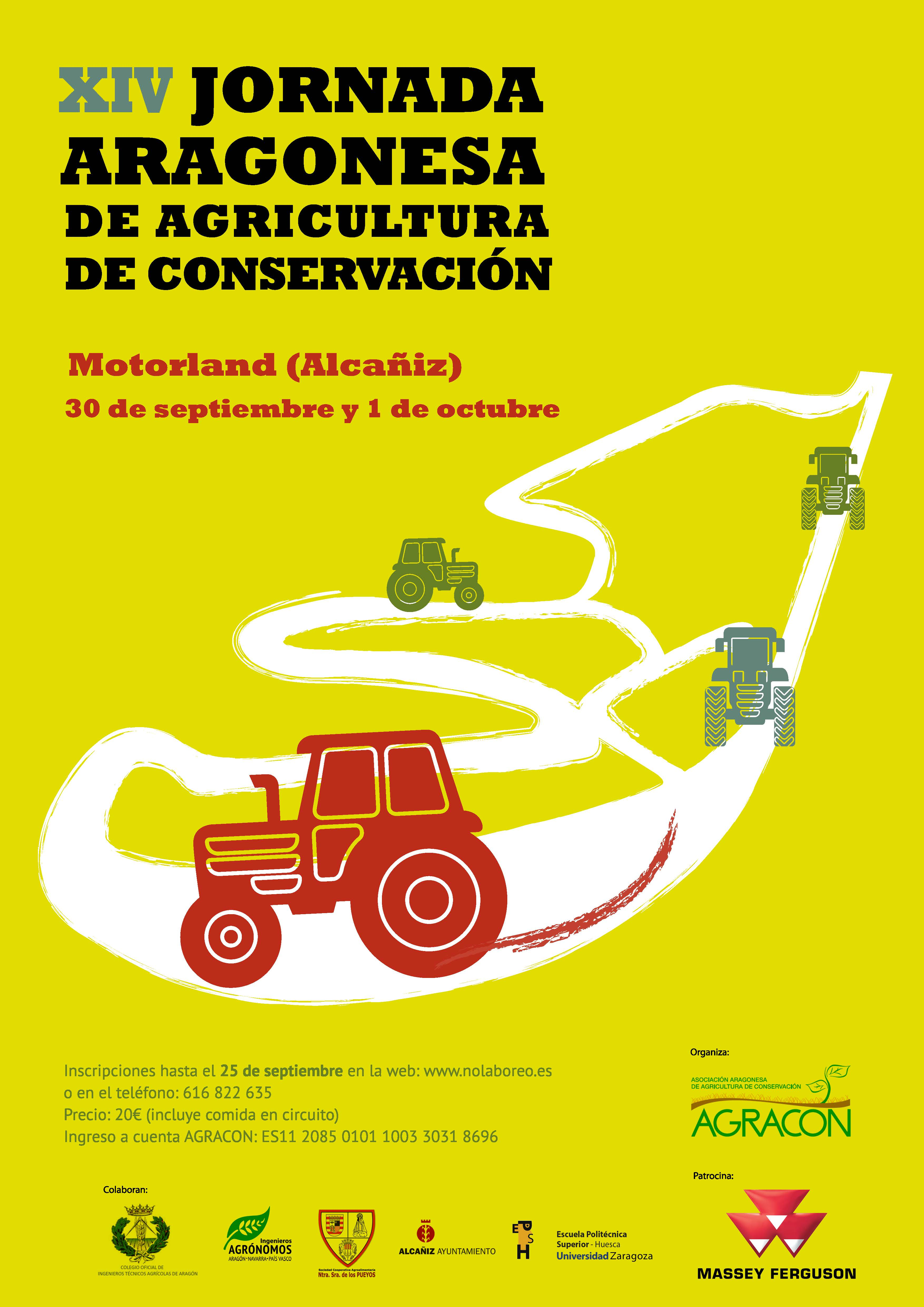 Circuito Motorland : Xiv jornada aragonesa de agricultura de conservación
